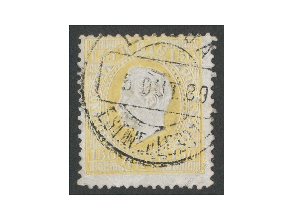 1879, 150R Luis, MiNr.49B, razítkované