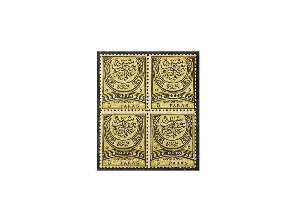 1880, 5Pa Znak, 4blok, MiNr.37, **
