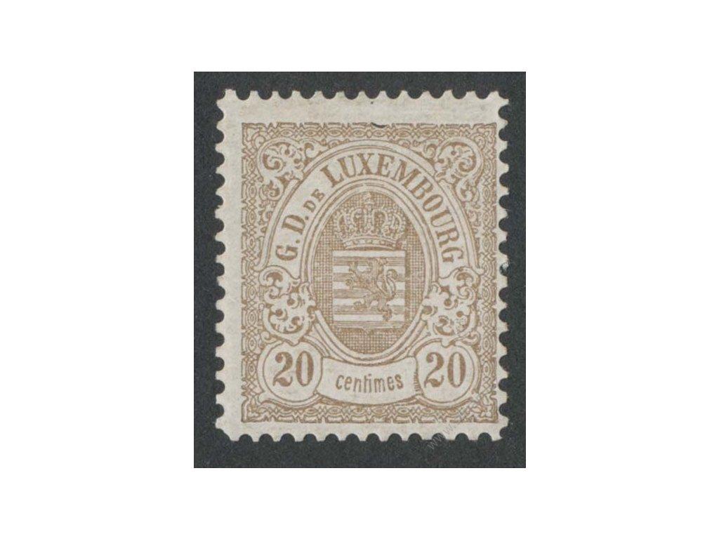 1880, 20C Znak, MiNr.42B, **
