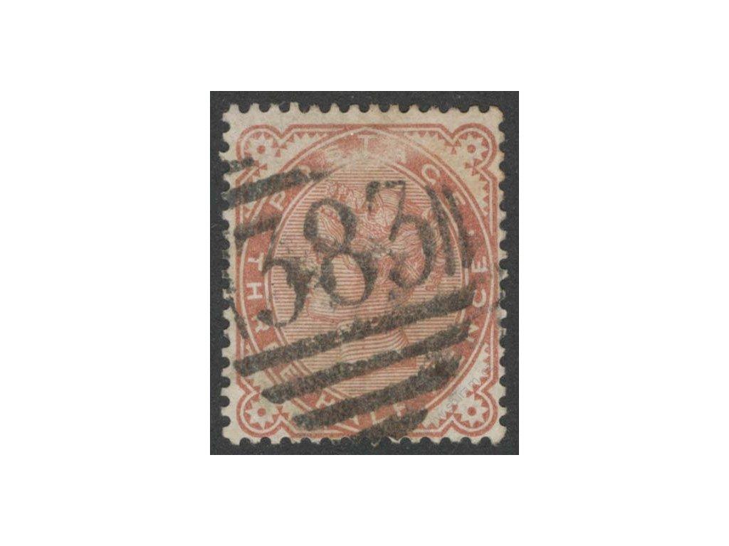 1880, 3/2P Viktoria, MiNr.57, razítkované, dv