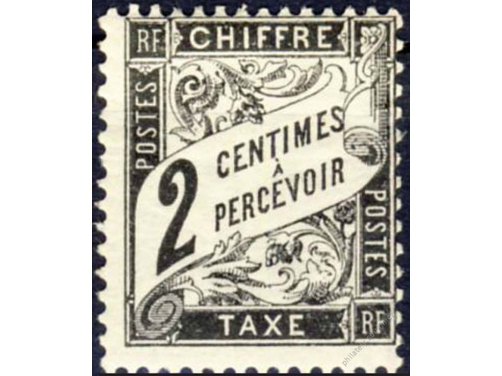 1881, 2C doplatní, MiNr.11, těžší *