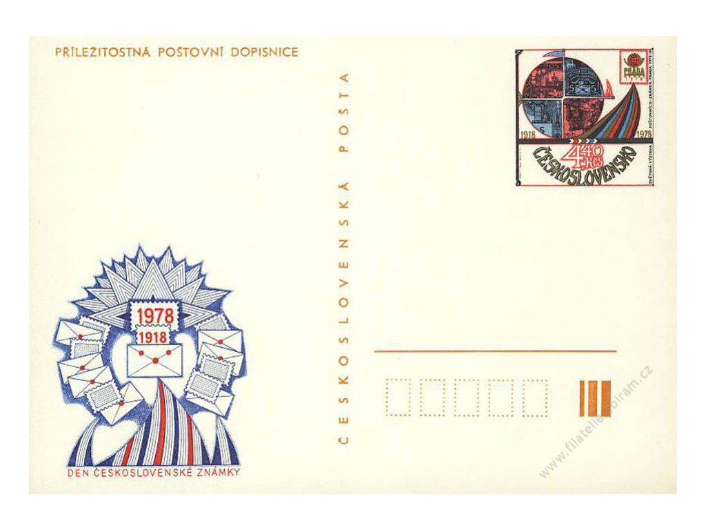 CDV 182a Praga 1978