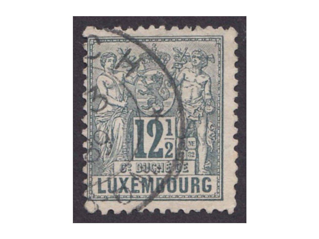 1882, 12 1/2C Alegorie, MiNr.50, razítkované, kz