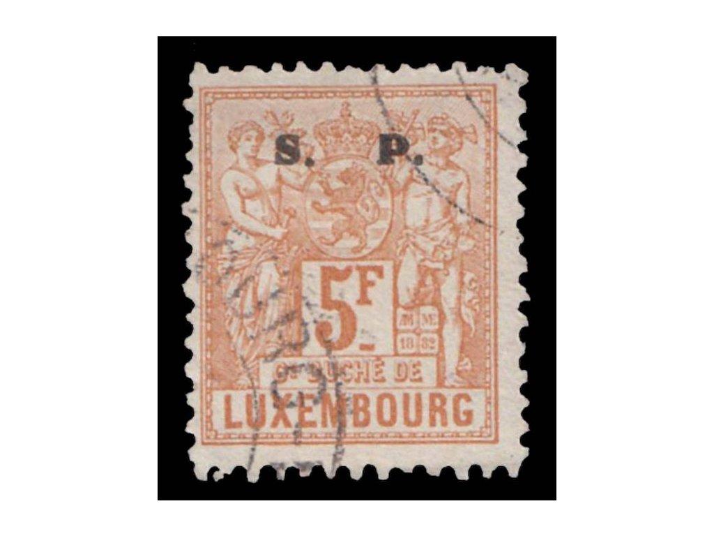 1882, 5Fr služební, MiNr.46, razítkované