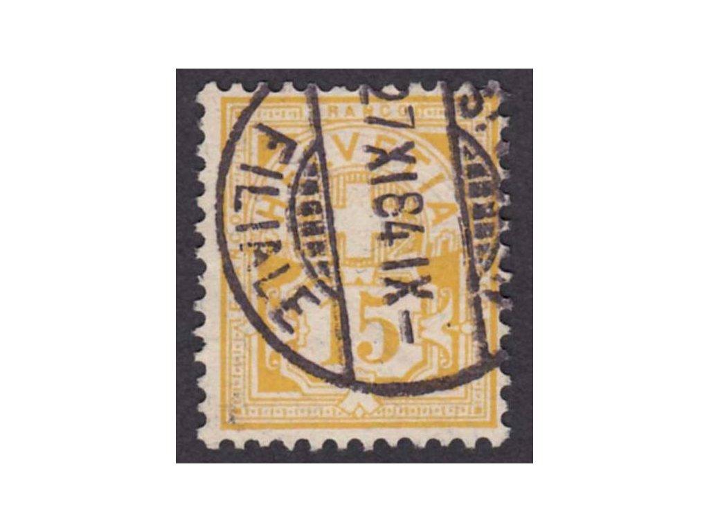 1882, 15C Znak, MiNr.56, razítkované, dv