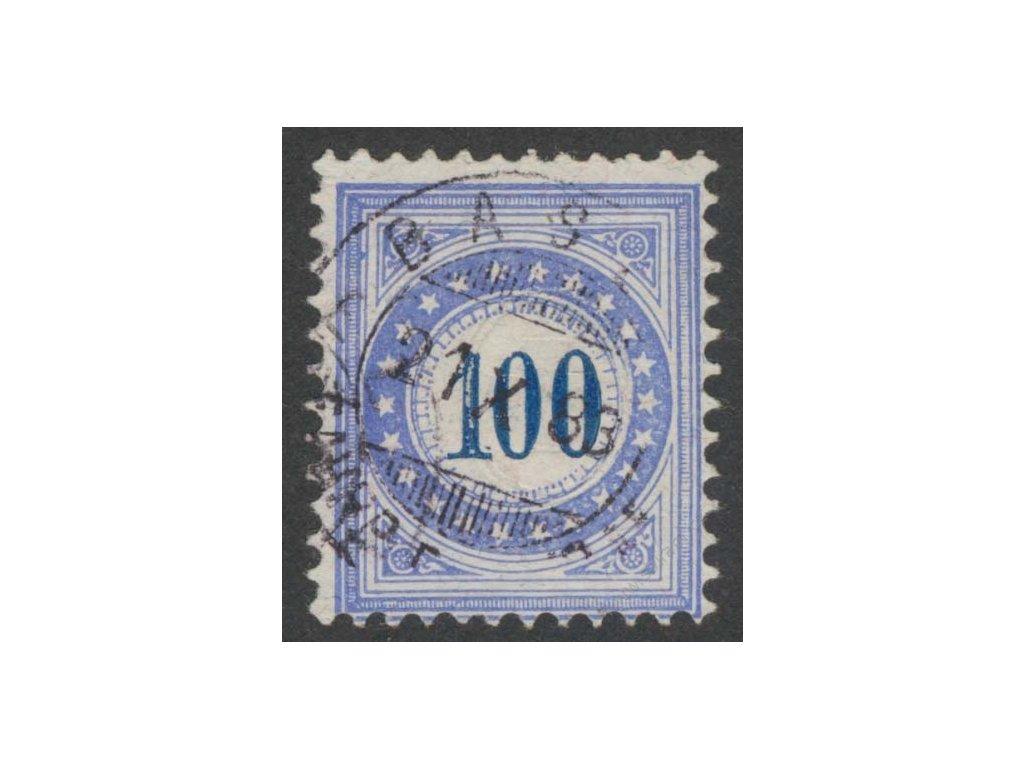 1882, 100C doplatní, Mi.450Eur, razítkované