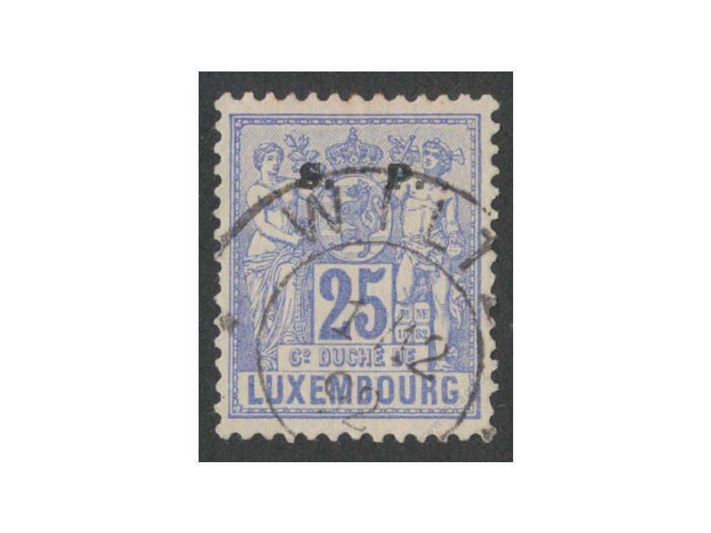 1882, 25C služební, MiNr.42, razítkované