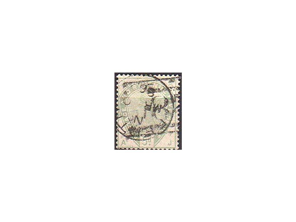 1883, 5P Viktorie, MiNr.78, razítkovaná (b)