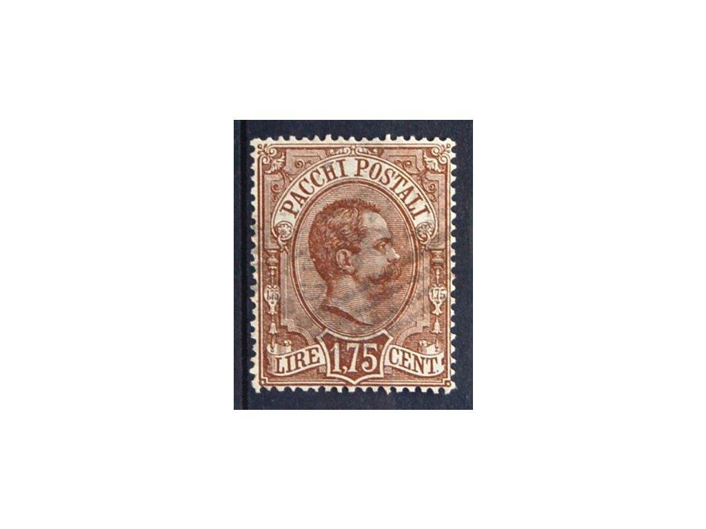 1884, 1.75L Paketmarken, MiNr.6, razítkované