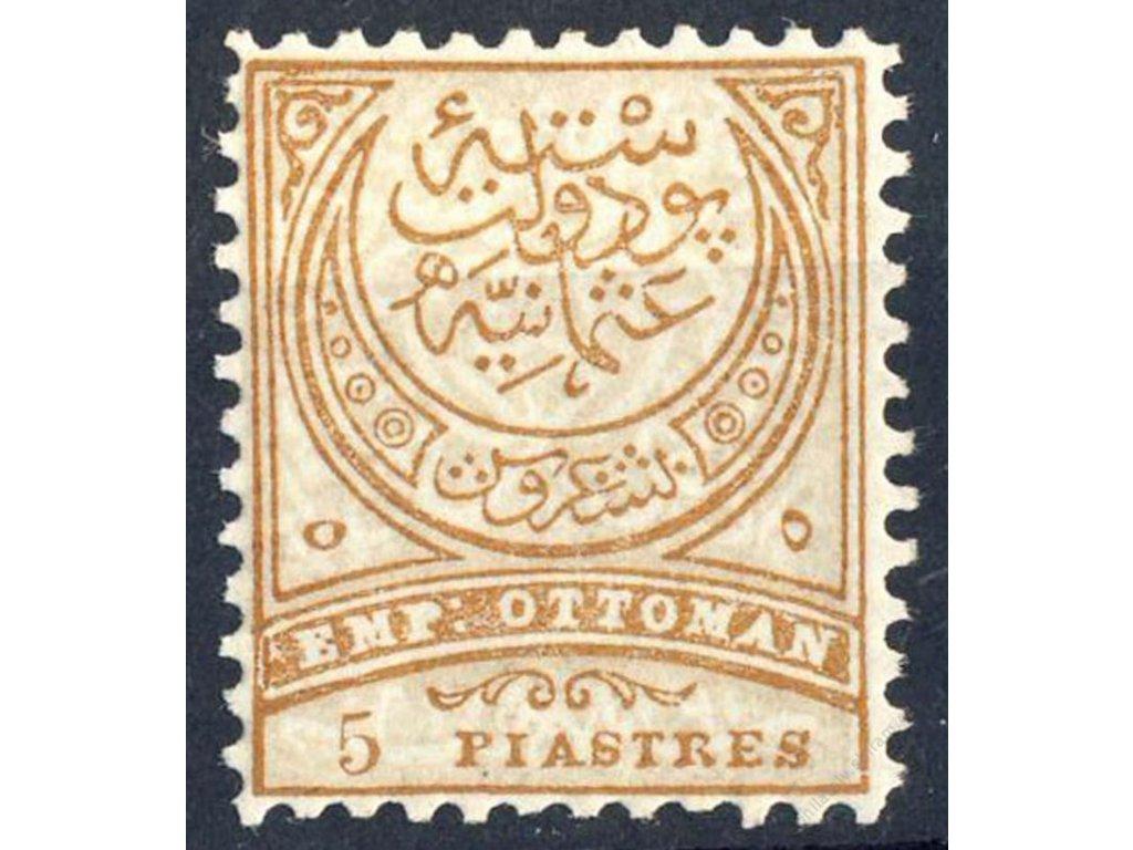 1884, 5Pia Znak, MiNr.49B, * po nálepce