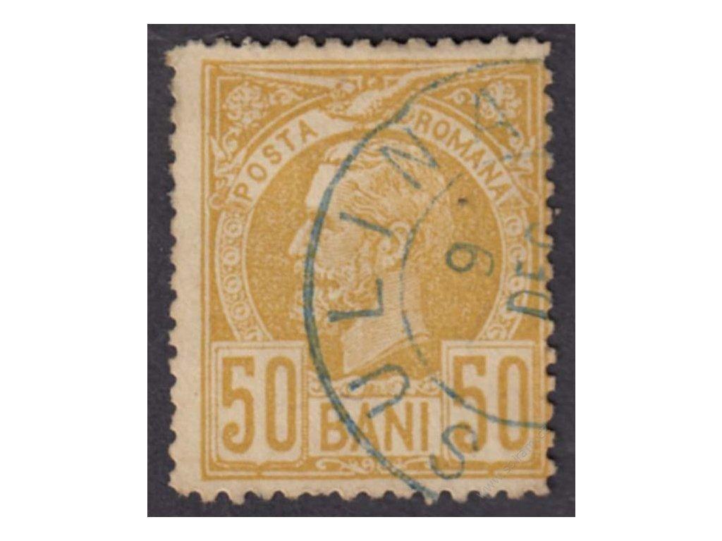 1885, 50B Karel, MiNr.69, razítkované