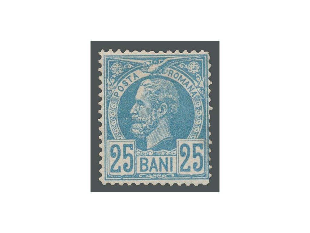 1885, 25B Karel, MiNr.68, * po nálepce