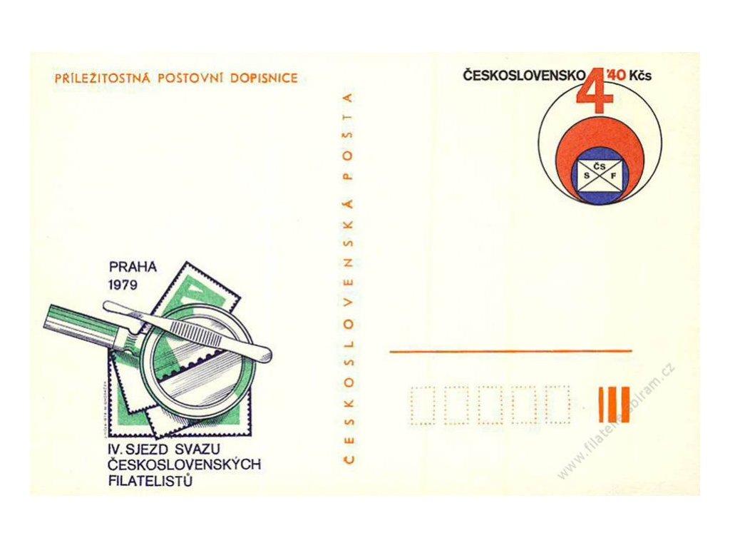 CDV 189 IV. sjezd filatelistů