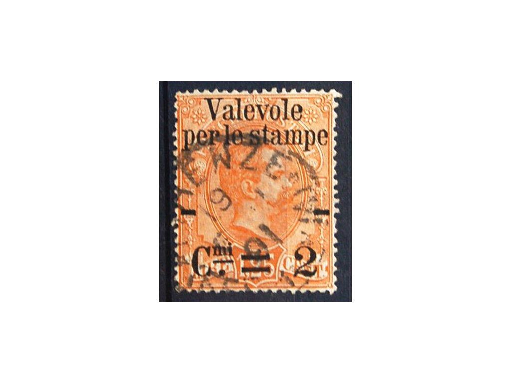 1890, 2C/1.25L hnědooranžová, razítkované