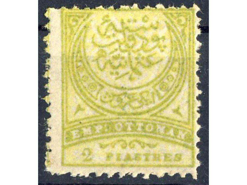 1890, 2Pia Znak, MiNr.62Ba, * po nálepce