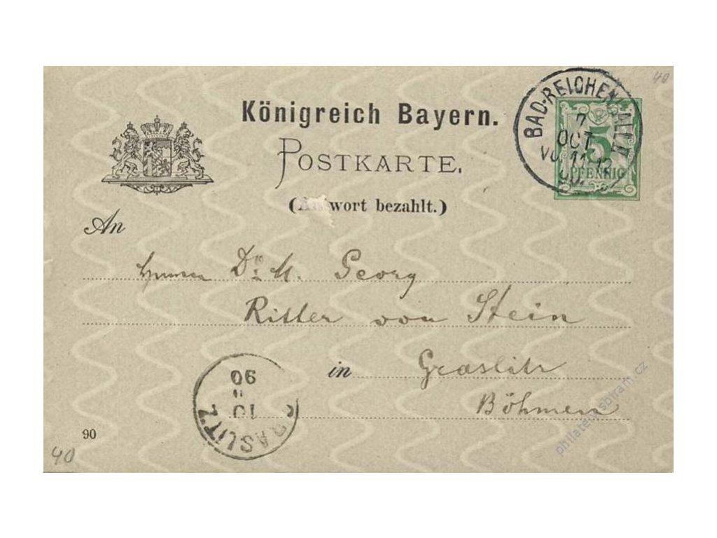 Bayern, 1890, DR Bad Reichenhalle, dvojitá