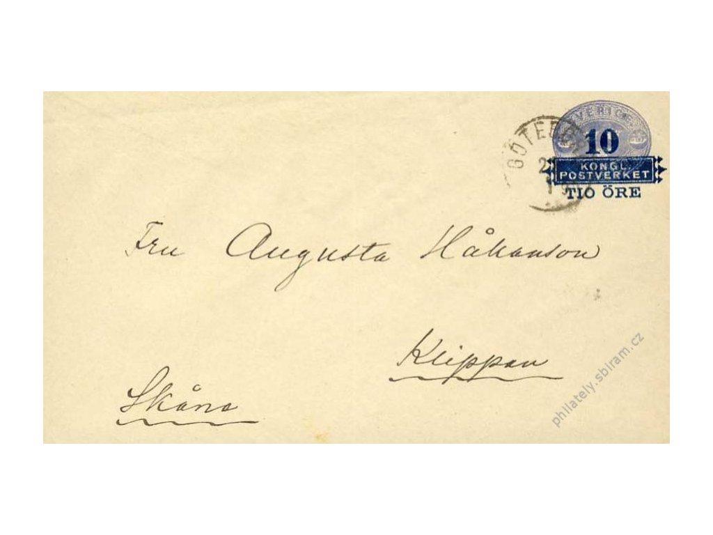 1890, DR Göteborg, celinová obálka