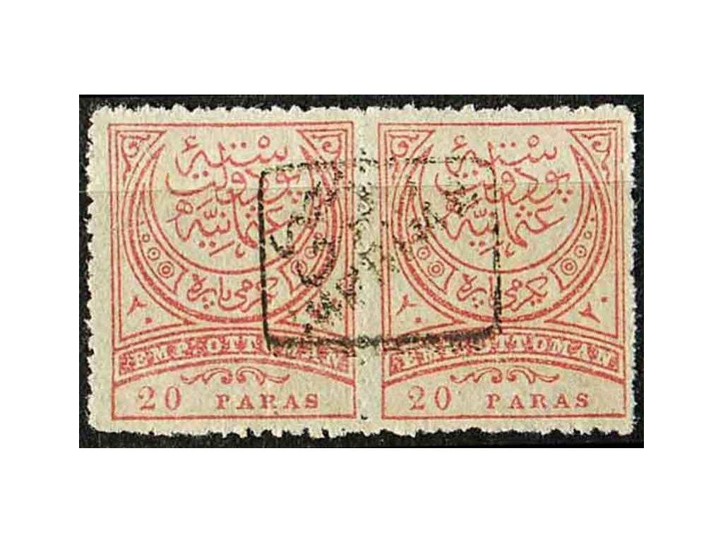 1891, 20Pa Znak, MiNr.65A, (*)