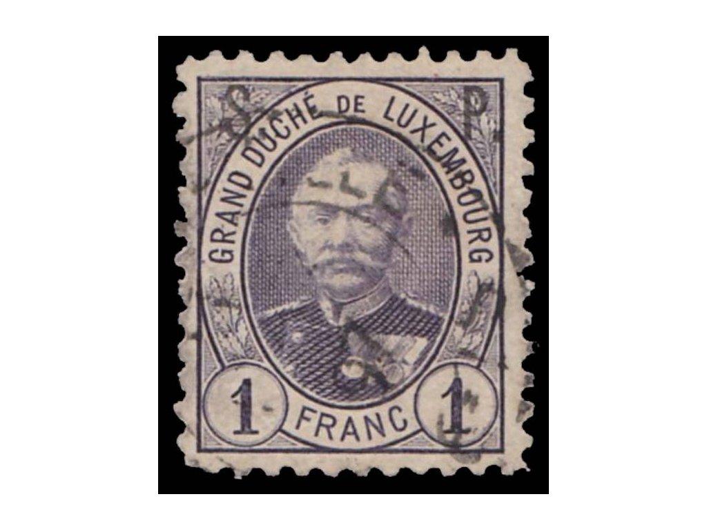 1891, 1Fr služební, MiNr.54, razítkované