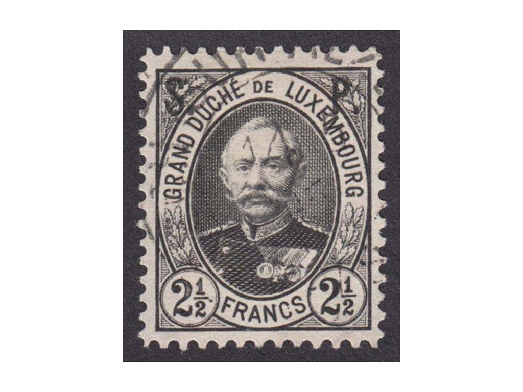 1891, 2 1/2Fr služebné, MiNr.55, razítkované