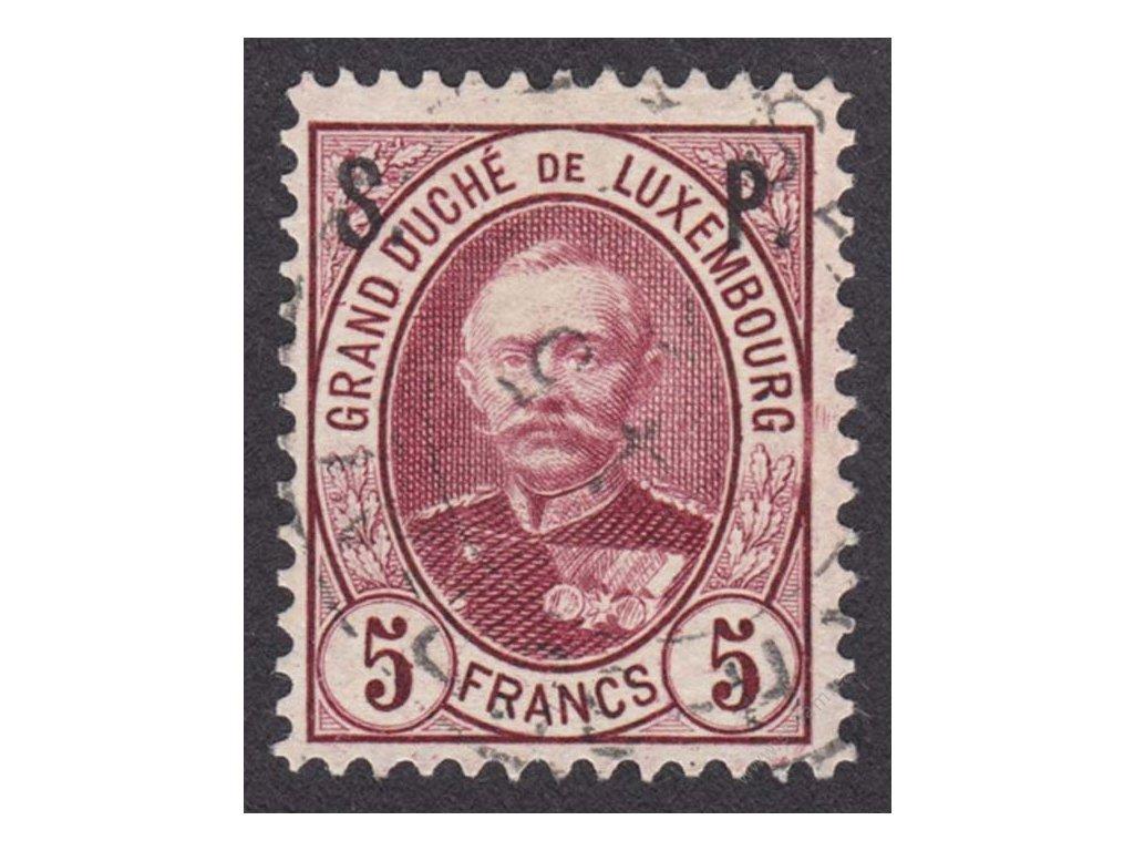 1891, 5Fr služební, MiNr.56, razítkované