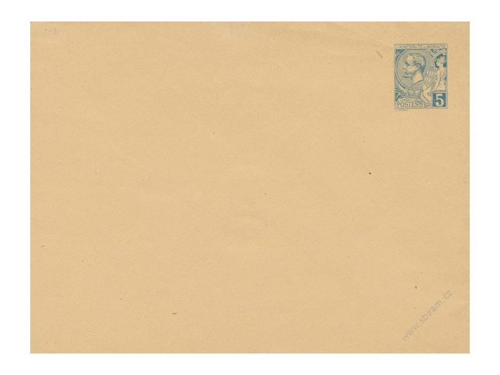 1891, celinová obálka 5C MiNr.U4B, neprošlé, dv