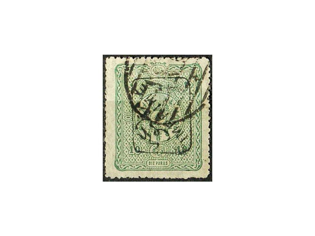 1892, 10Pa Znak, MiNr.74, razítkovaná