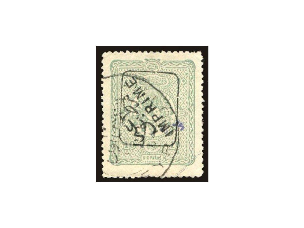 1892, 10Pa Znak, Mi.100Euro, MiNr.74, razítkované