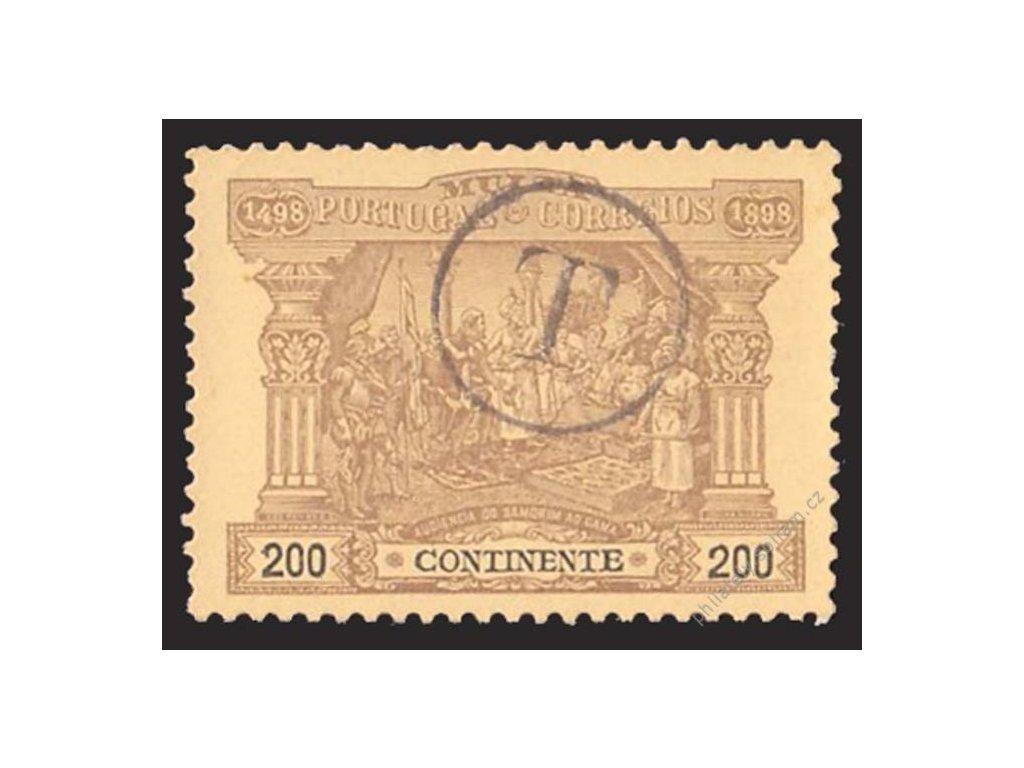 1898, 200R doplatní, MiNr.6, razítko T