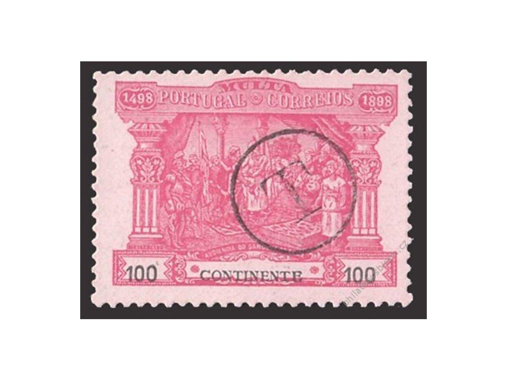1898, 100R doplatní, MiNr.5, razítko T