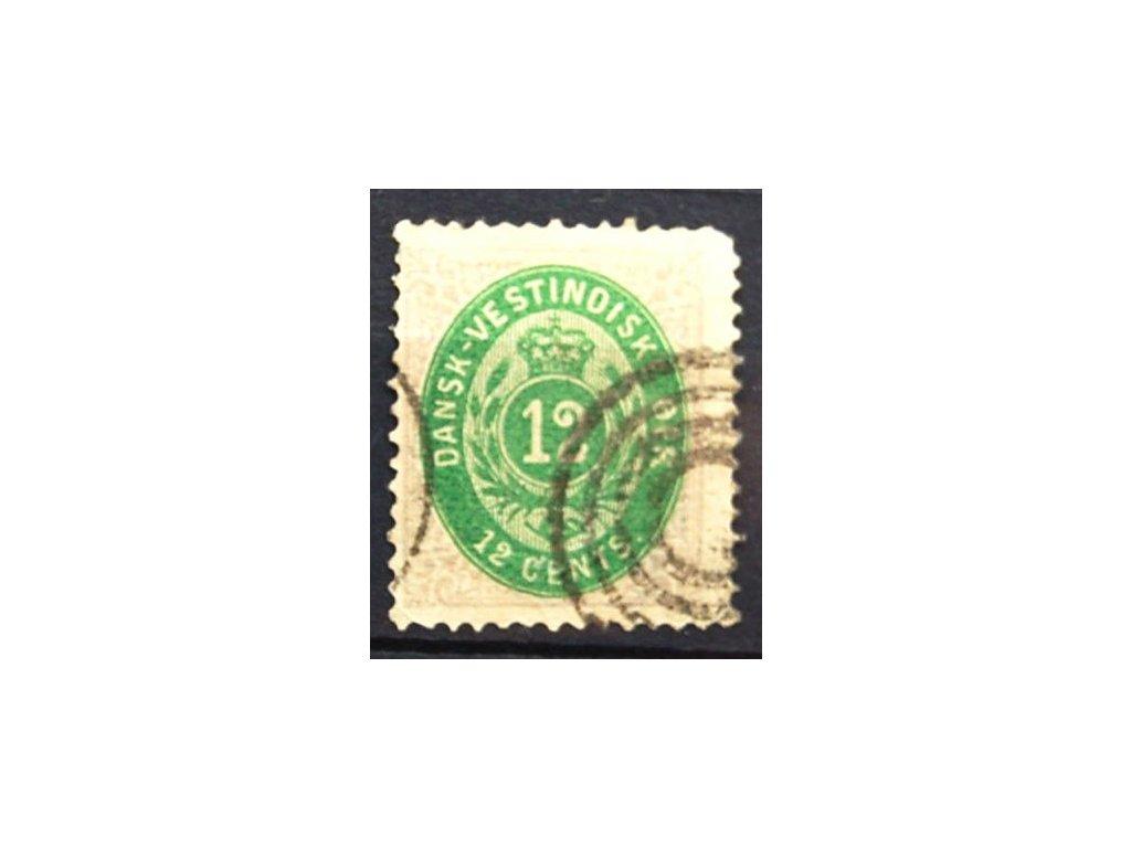Westindien, 1876, 12C, špatná jakost