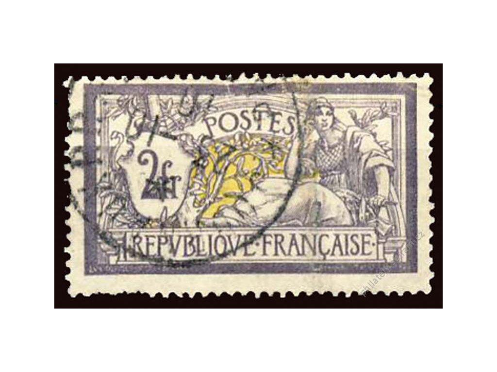 1900, 2Fr Merson, MiNr.99, razítkované