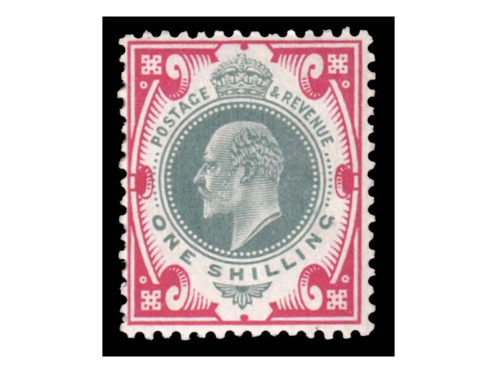 1902, 1Sh Eduard, MiNr.114, těžší *