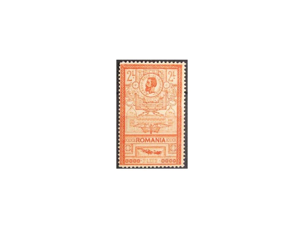 1903, 2L Karel, dv, MiNr.159, * po nálepce