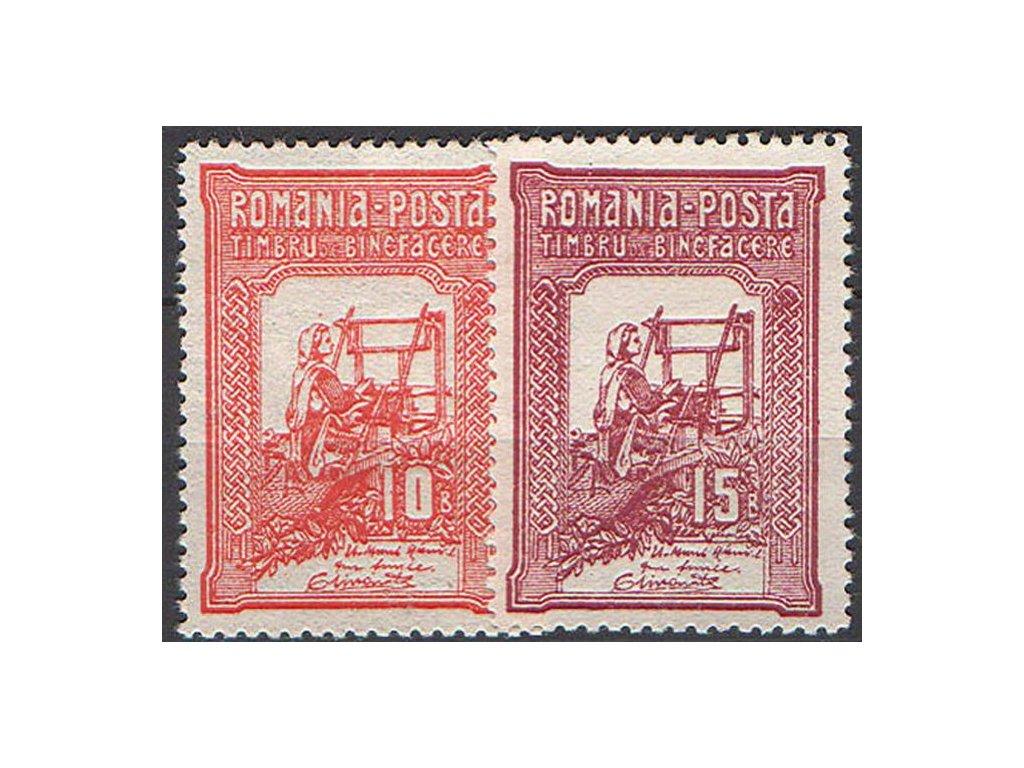 1906, 10 a 15B MiNr,167,168, těžší *