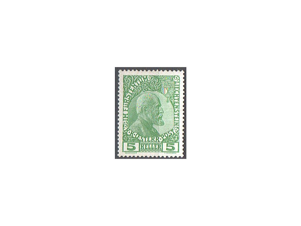 1912, 5H Johan, MiNr.1, * po nálepce