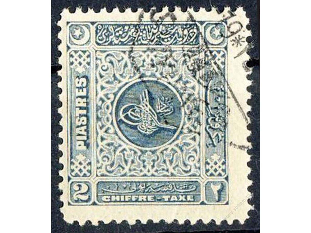 1914, 2Pia doplatní, razítkovaná, drobné vlomy