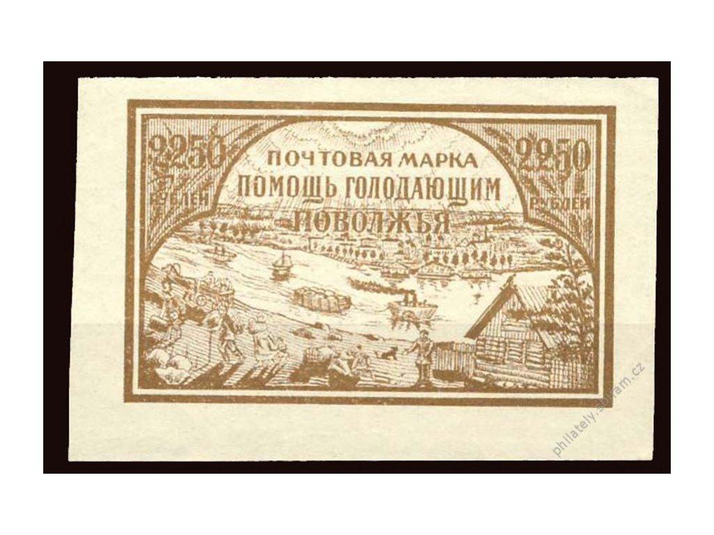 1921, 2250R Pomoc hladovějícím, MiNr.166x, **