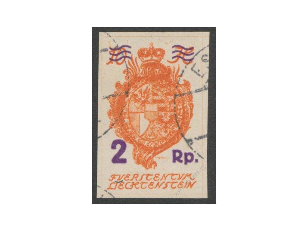 1921, 2Rp/10H Znak, MiNr.43, razítkované