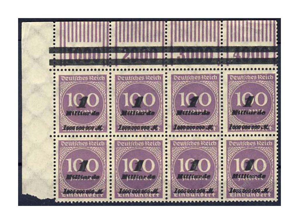 1923, 1Mrd/100M fialová, MiNr.331, **/* , Munchen