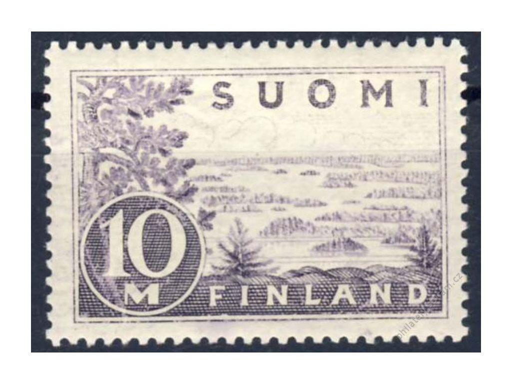 1930, 10M šedorůžová, MiNr.156a, * po nálepce