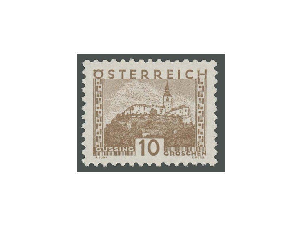 1932, 10g Krajinky, MiNr.530, **