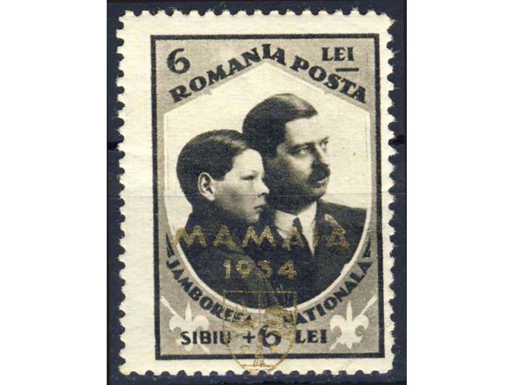 1934, 6L MAMAIA, MiNr.473, **