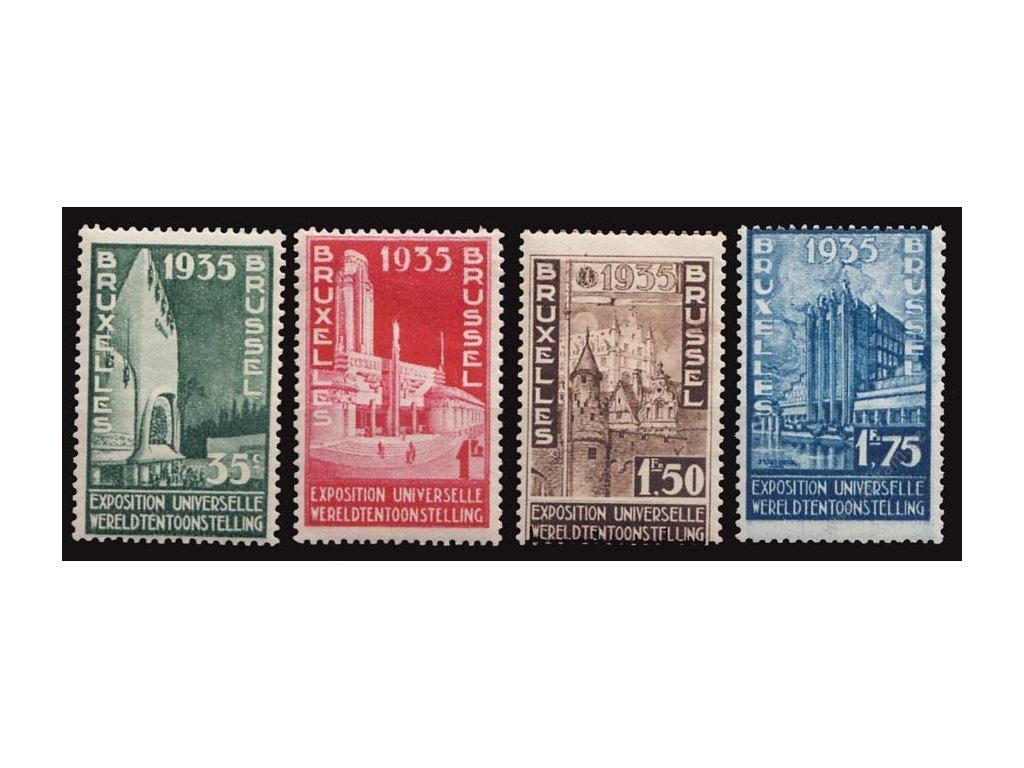 1934, 35C-1.75Fr Výstavní série, * po nálepce, 1.75Fr dv