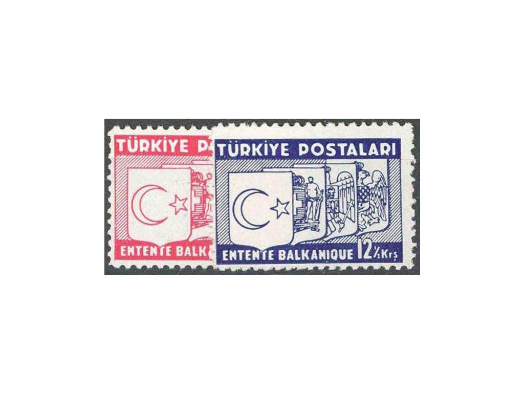 1937, 8-12 1/2K série, * po nálepce