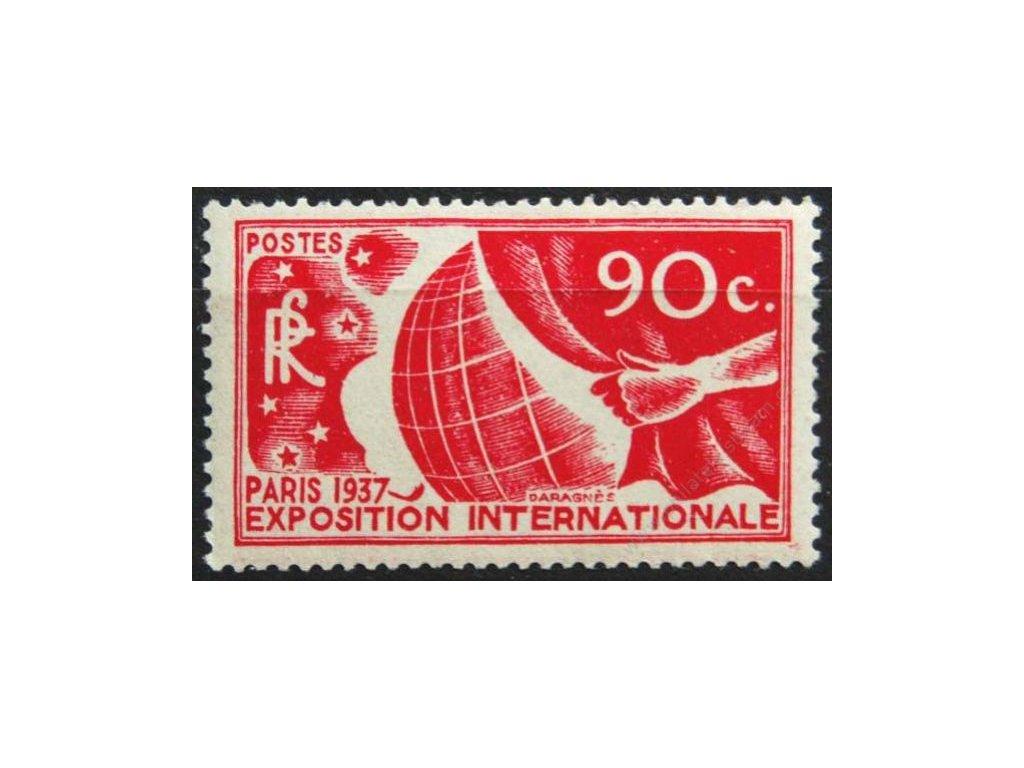 1937, 90C Světová výstava, MiNr.332, **