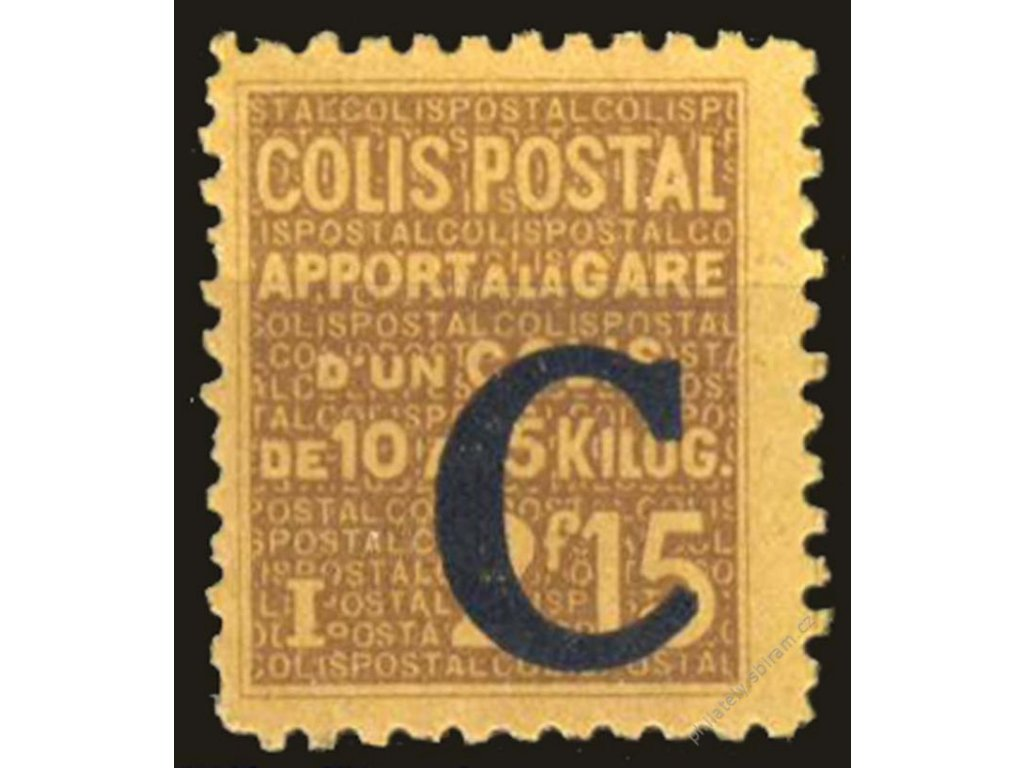 1937, 2.15Fr Postpaketmarken, MiNr.89, **