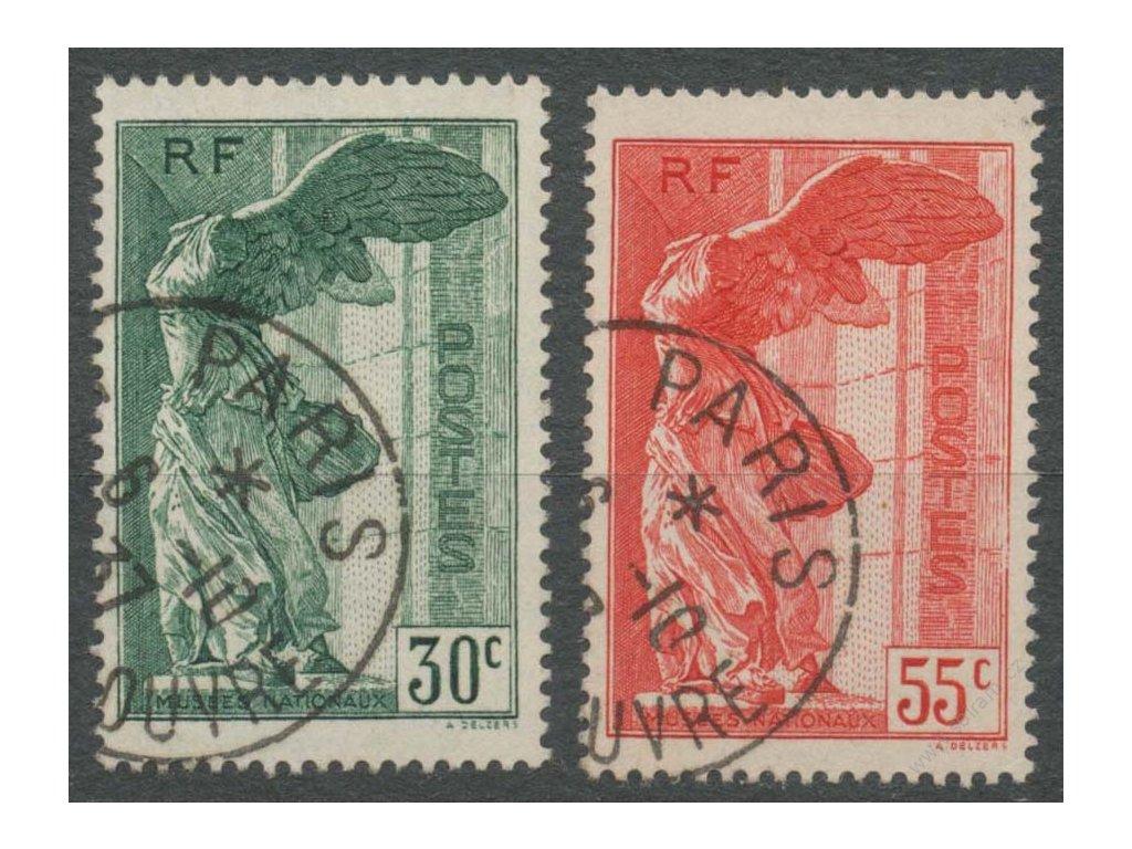 1937, 30-55C série Muzeum, razítkované