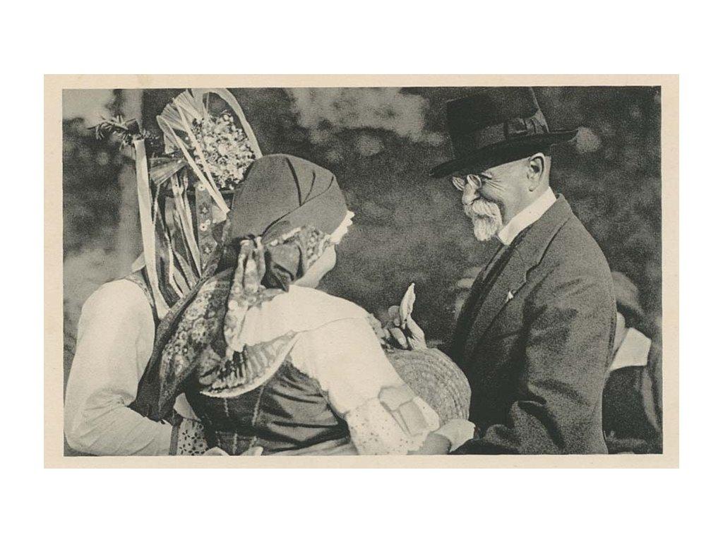 1937, Praha 10 Hrad, Smutek Československa, pohled