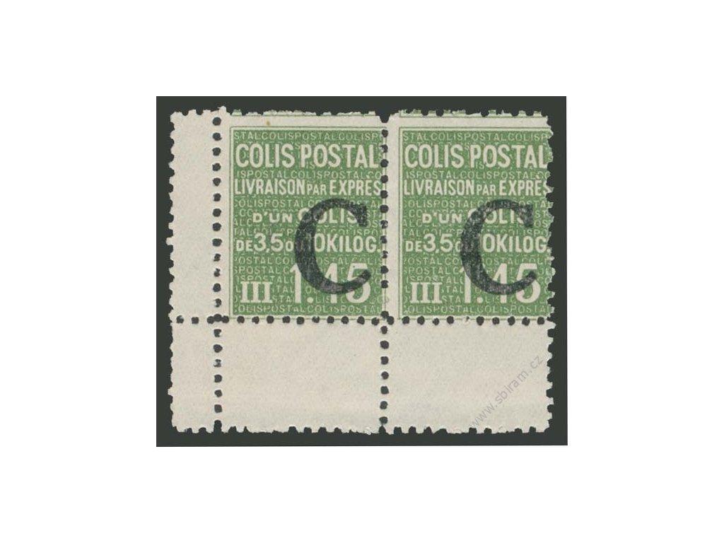 1938, 1.45Fr Postpaketmarken, MiNr.85, **